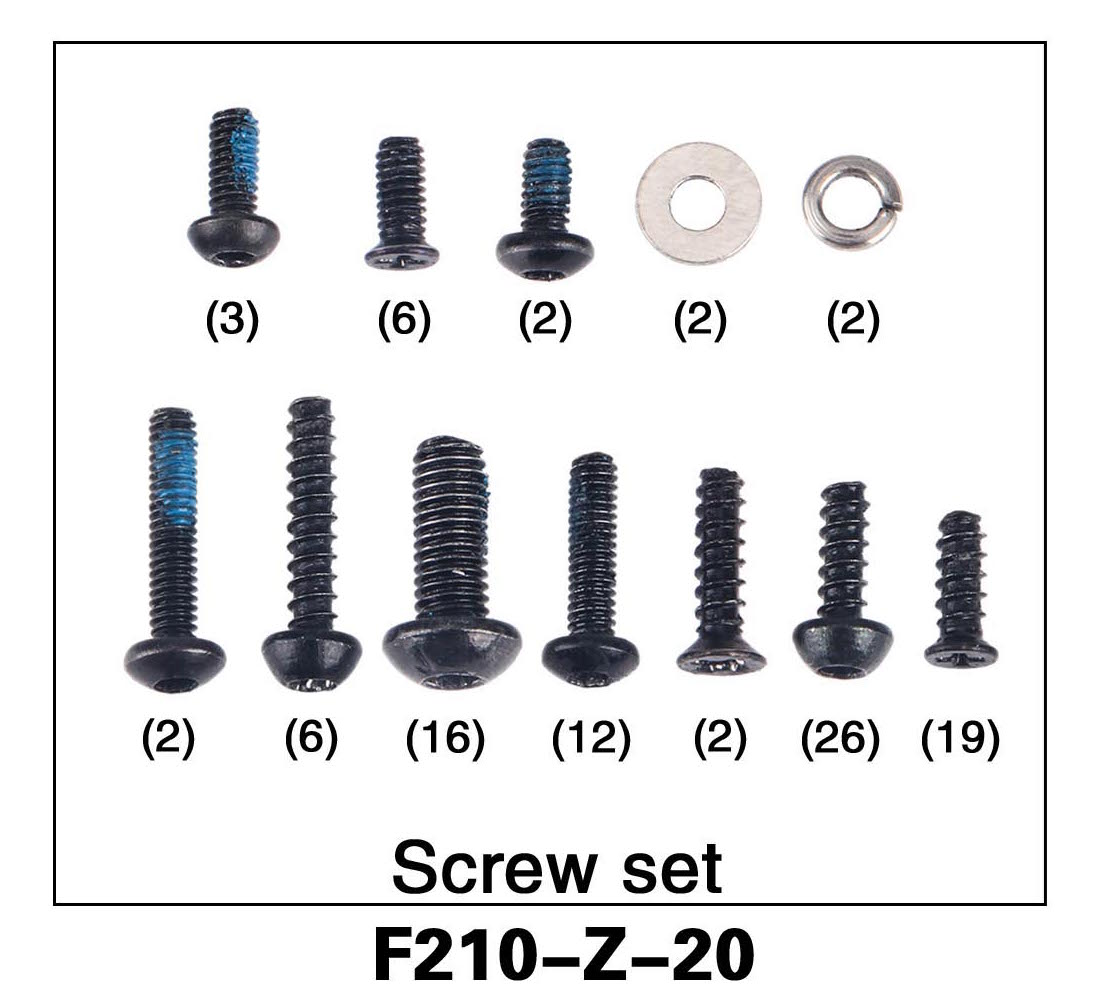 Screw Set F210-Z-20