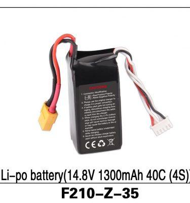 Li-po Battery (14.8V 1300mAh 40C (4S)) F210-Z-35