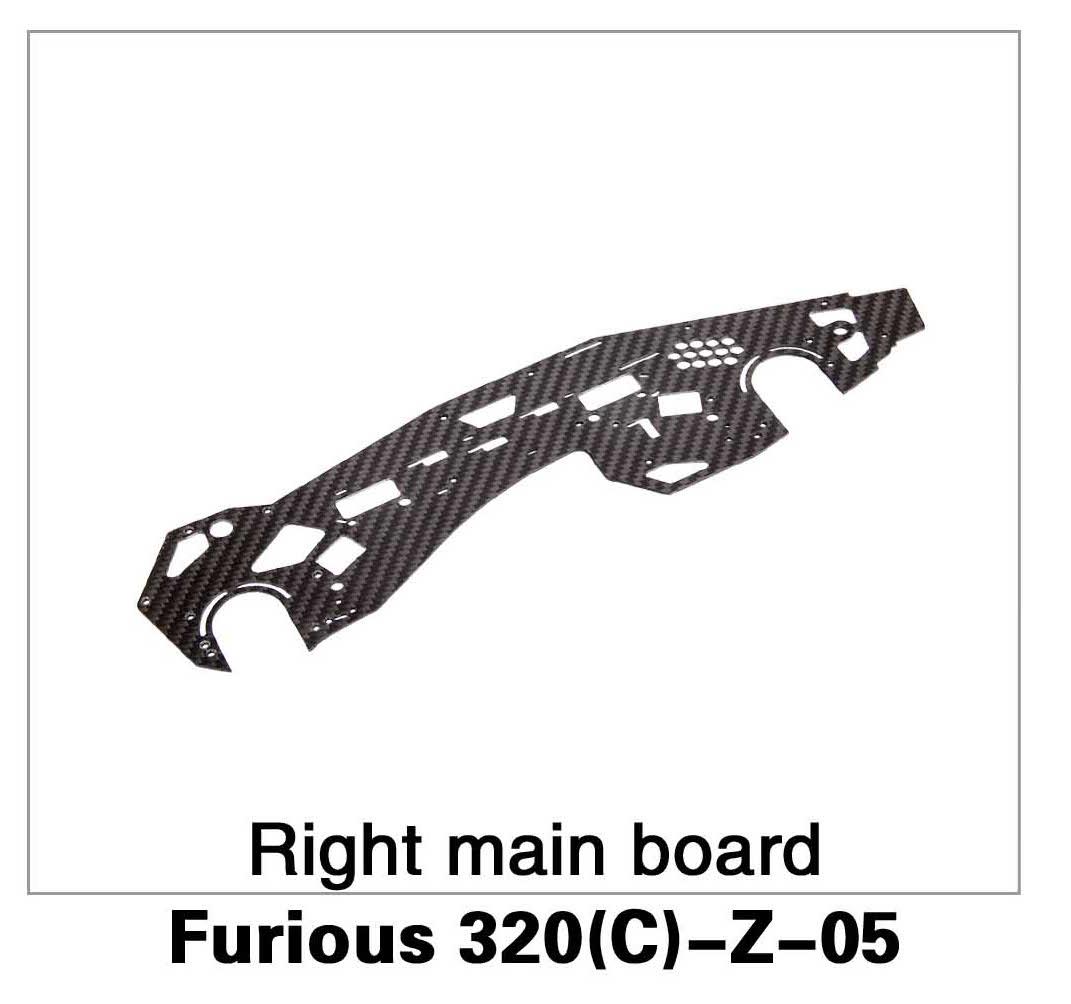 Right Main Board Furious 320(C)-Z-05