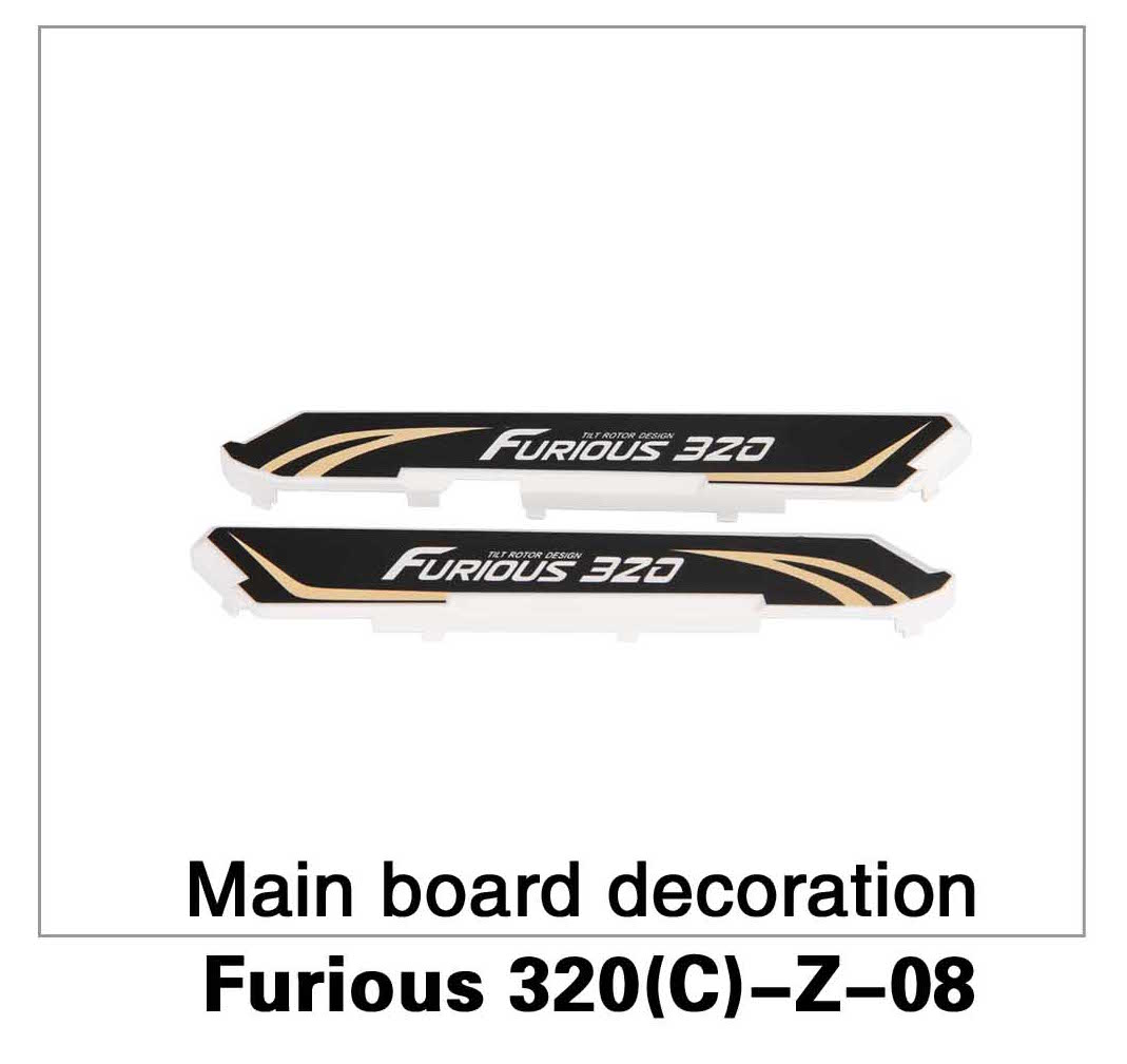 Main Board Decoration Furious 320(C)-Z-08