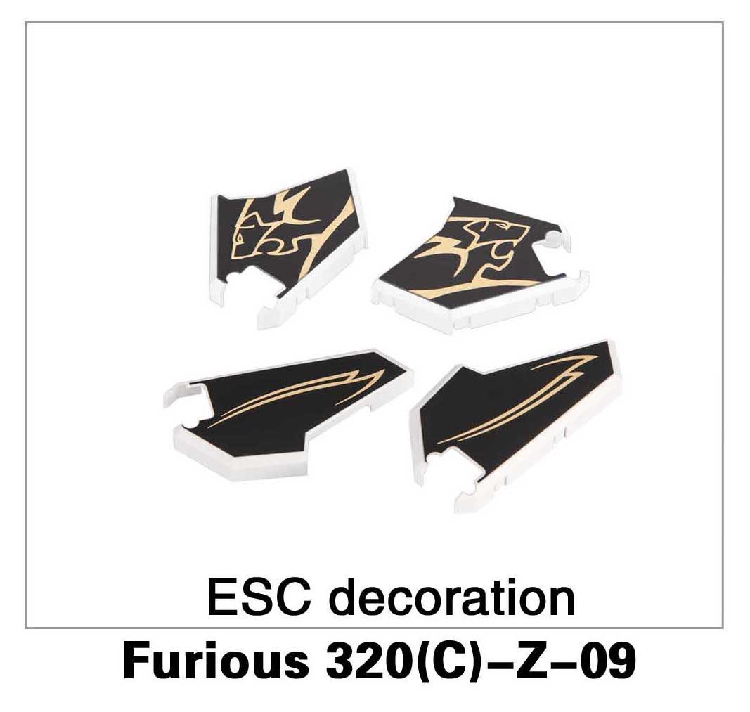 ESC Decoration Furious 320(C)-Z-09