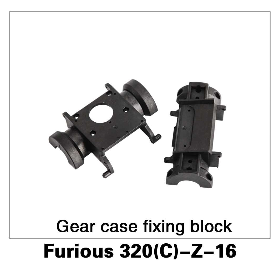 Gear Case Fixing Block Furious 320(C)-Z-16