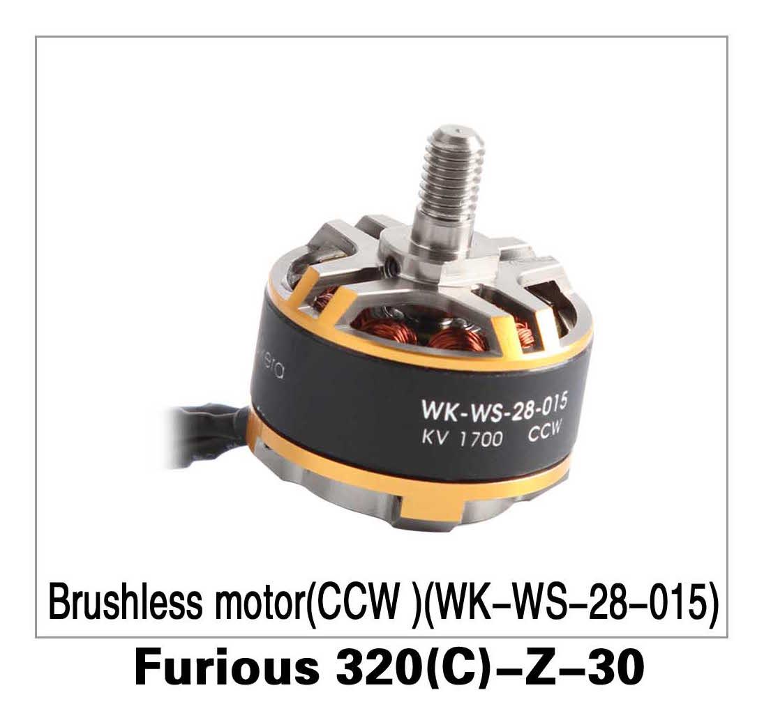 Brushless Motor (CCW)(WK-WS-28-015) Furious 320(C)-Z-30