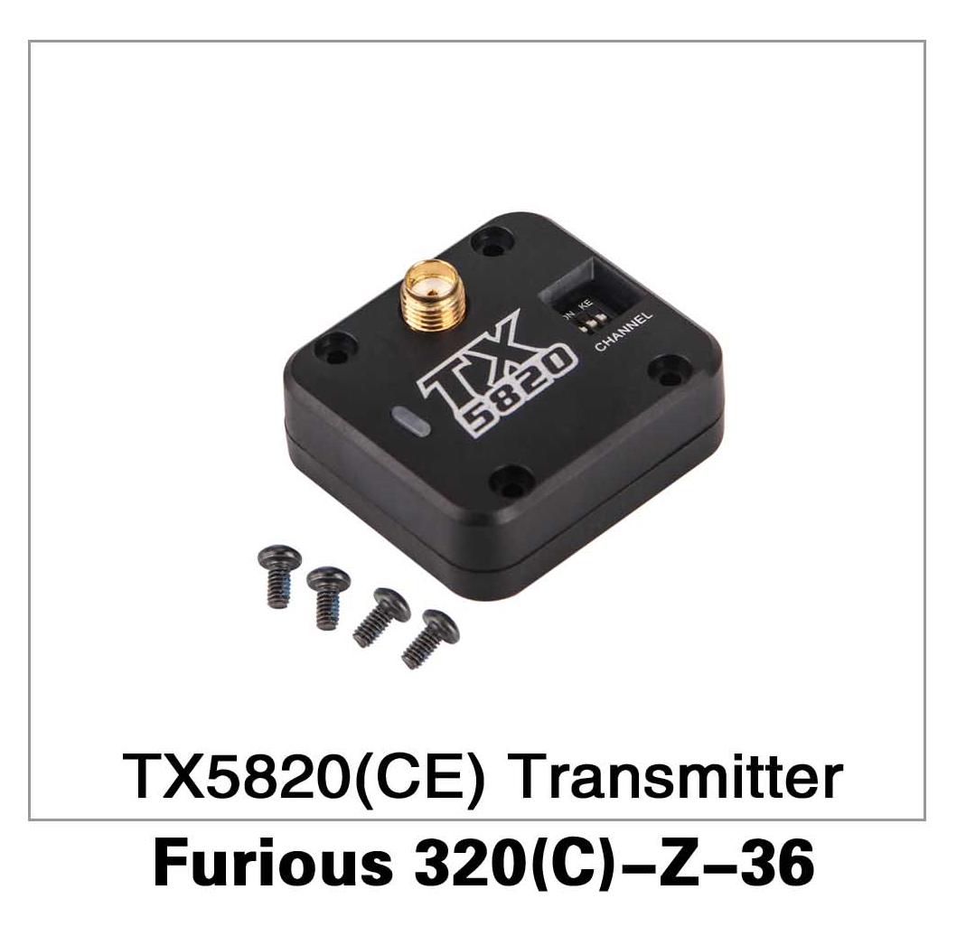 TX5820 (CE) Transmitter Furious 320(C)-Z-36