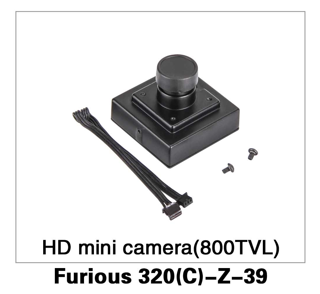 HD Mini Camera (800TVL) Furious 320(C)-Z-39