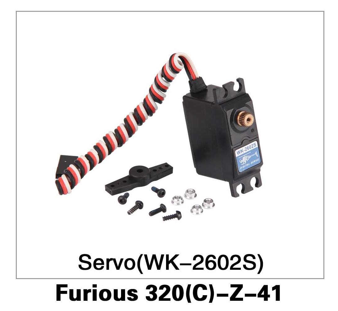 Servo (WK-2602S) Furious 320(C)-Z-41