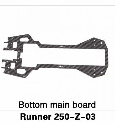 Bottom Main Board Runner 250-Z-03