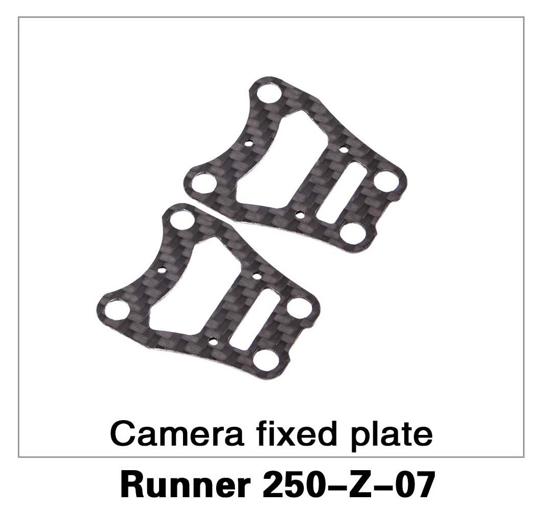 Camera Fixed Plate Runner 250-Z-07