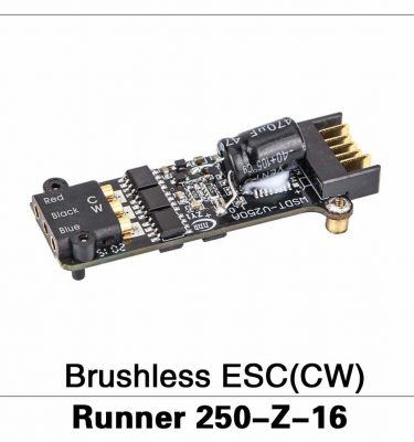 Brushless ESC(CW) Runner 250-Z-16