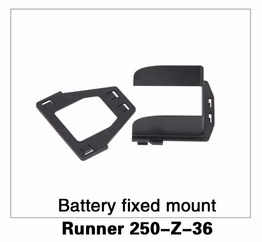 Battery Fixed Mount Runner 250-Z-36
