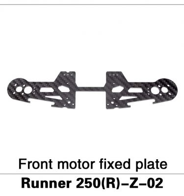 Front Motor Fixed Plate Runner 250(R)-Z-02