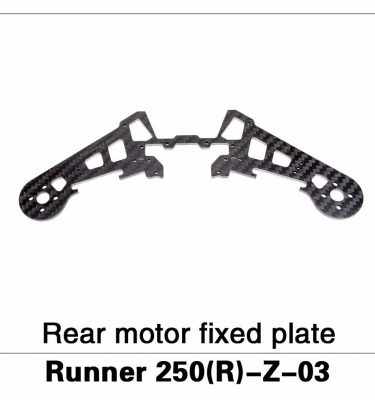 Rear Motor Fixed Plate Runner 250(R)-Z-03