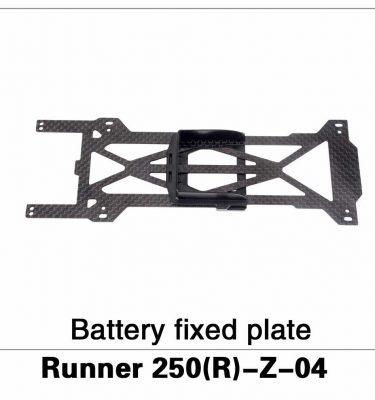 Battery Fixed Plate Runner 250(R)-Z-04