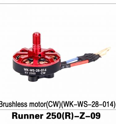 Brushless Motor (CW)(WK-WS-28-014) Runner 250(R)-Z-09