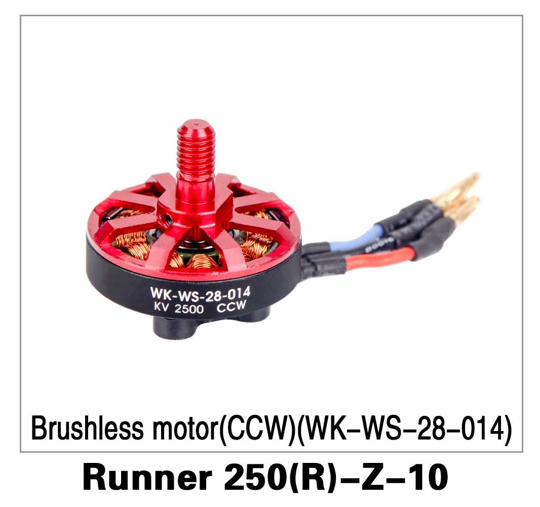 Brushless Motor (CW)(WK-WS-28-014) Runner 250(R)-Z-10