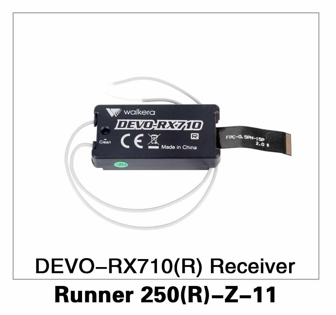 DEVO-RX710(R) Receiver Runner 250(R)-Z-11