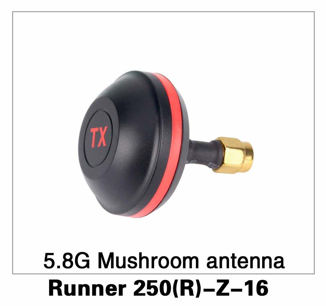 5.8G Mushroom Antenna Runner 250(R)-Z-16