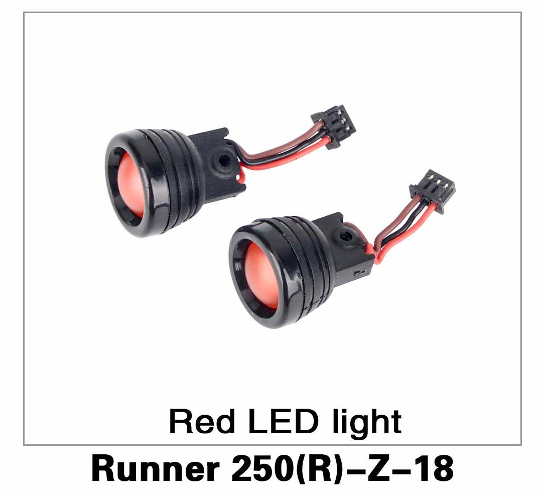 Red LED Light Runner 250(R)-Z-18