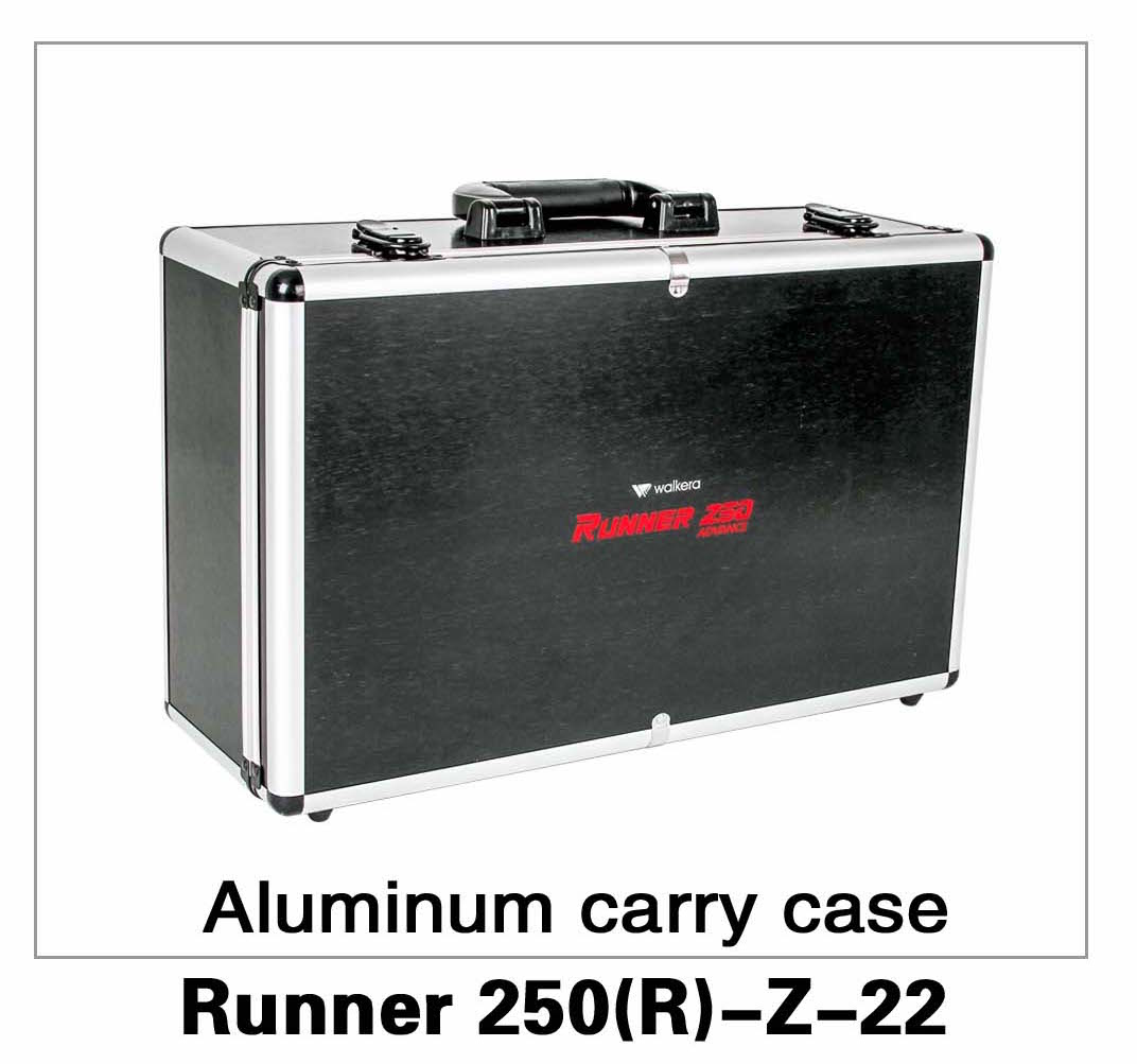 Aluminium Carry Case (DEVO-7/F7) Runner 250(R)-Z-22